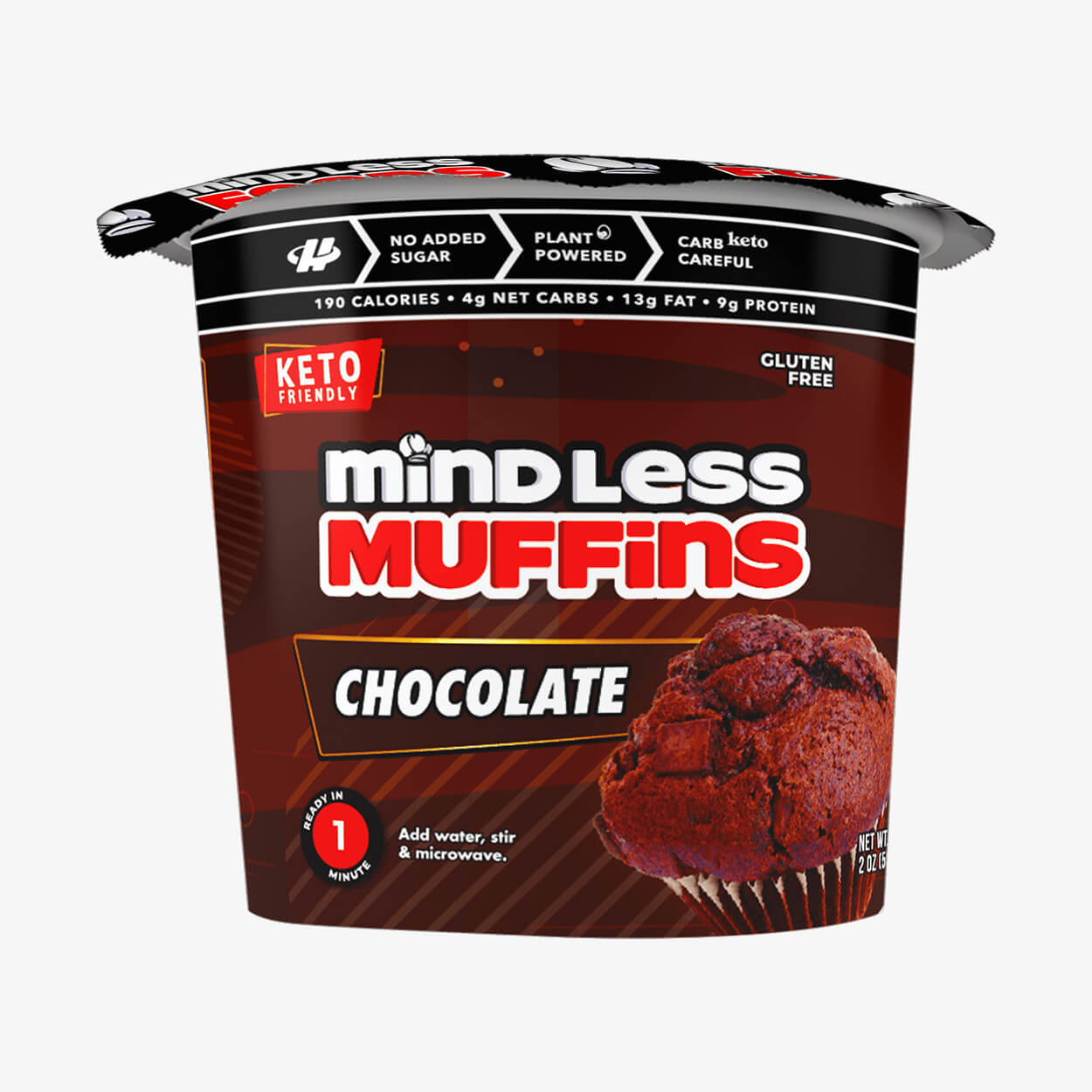 Chocolate Muffin - Mindless Foods - Halo Healthy Tribes