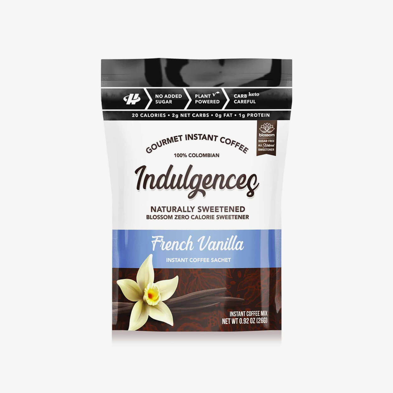 French Vanilla Instant Coffee - Indulgences - Halo Healthy Tribes