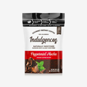 Peppermint Mocha Instant Coffee - Indulgences - Halo Healthy Tribes