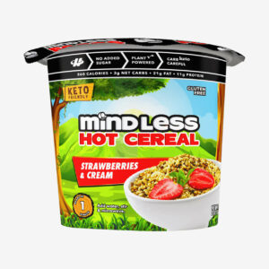 Strawberries and Cream Cereal - Mindless Foods - Halo Healthy Tribes