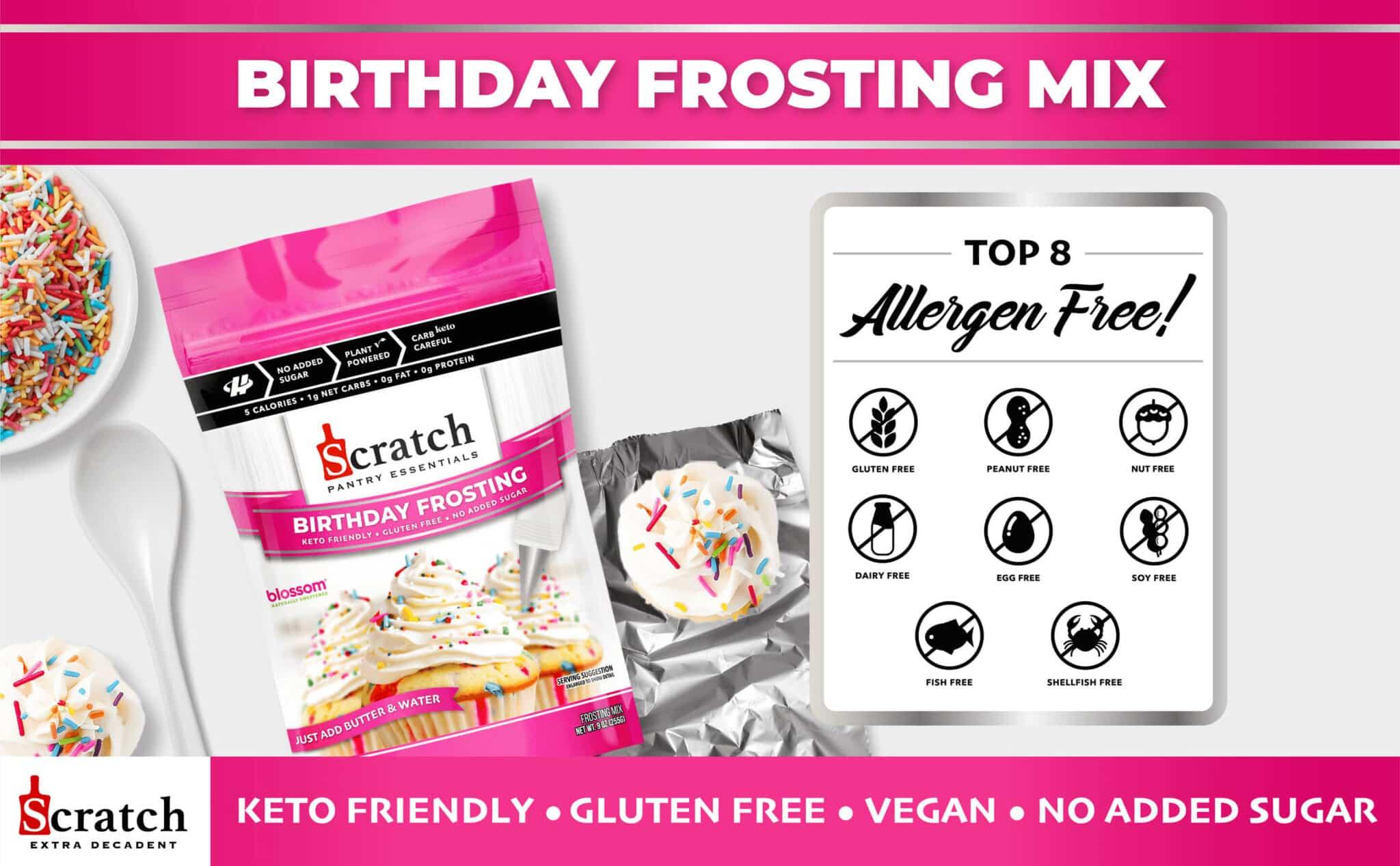 Keto Birthday Frosting