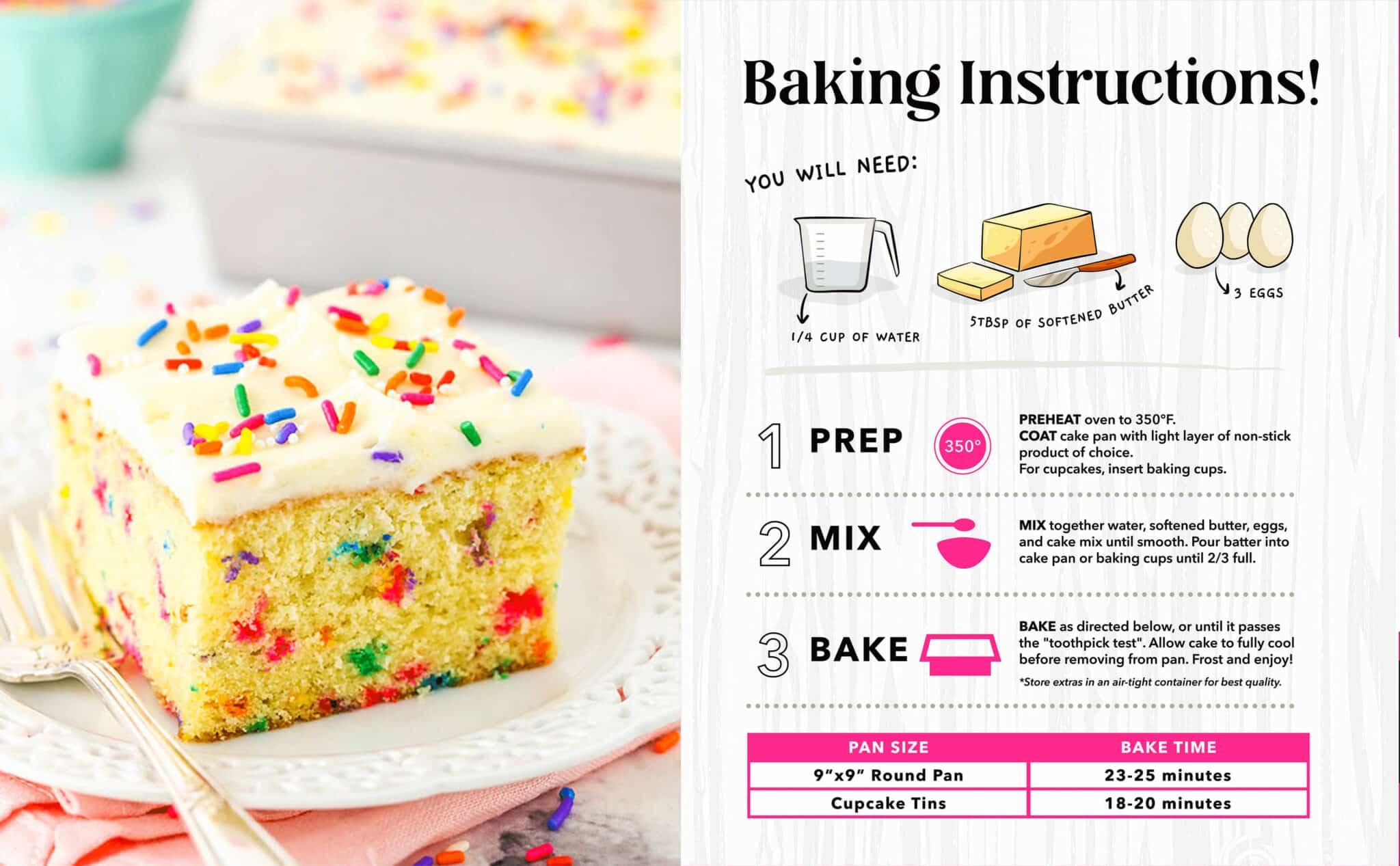 Keto Birthday Cake Mix