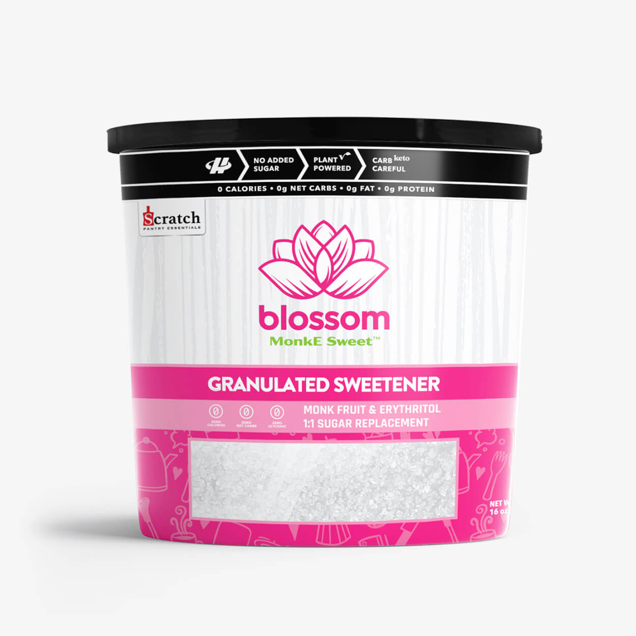 Blossom Granulated Monk Fruit Sweetener - Halo Healthy Tribes