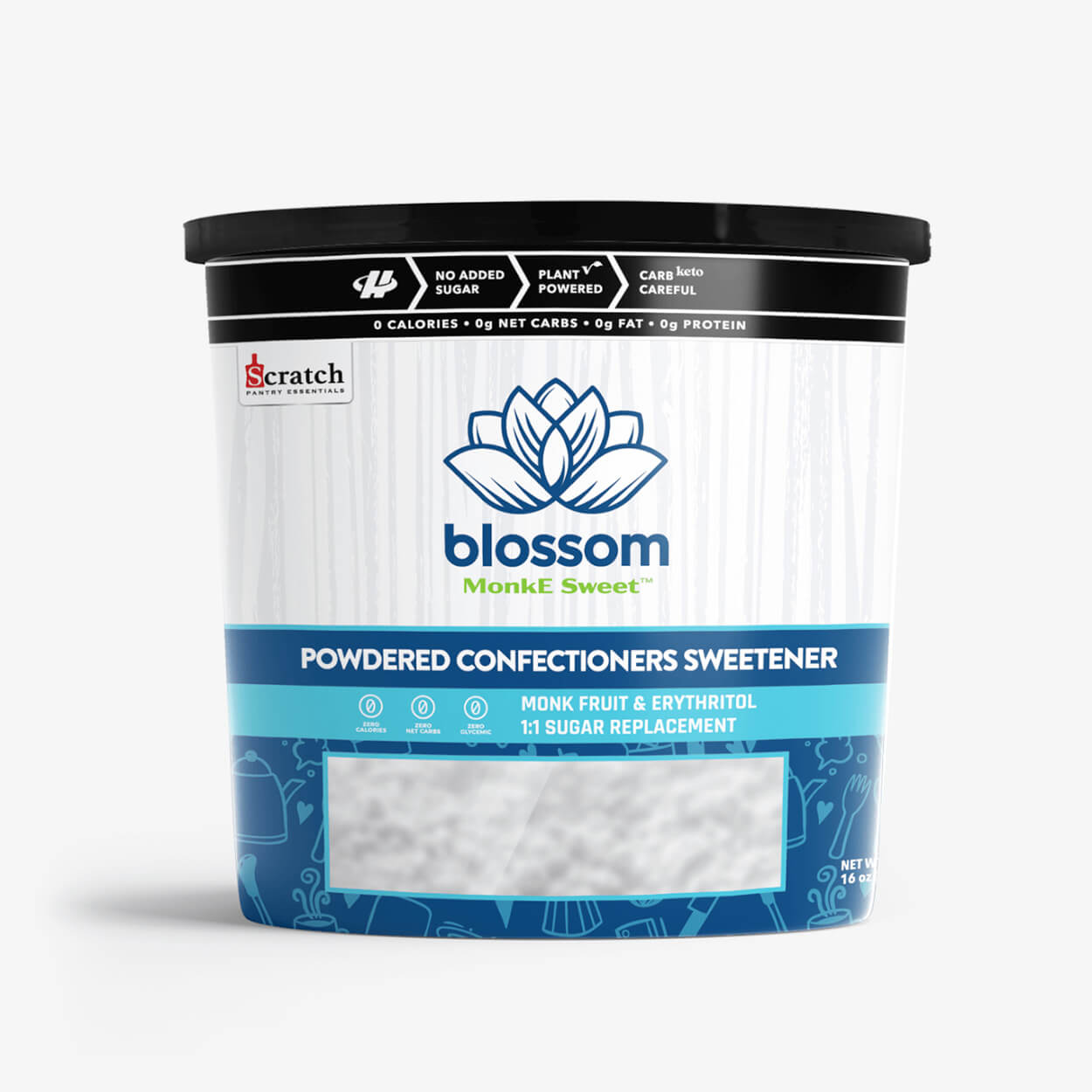 Blossom Powdered Monk Fruit Sweetener - Halo Healthy Tribes