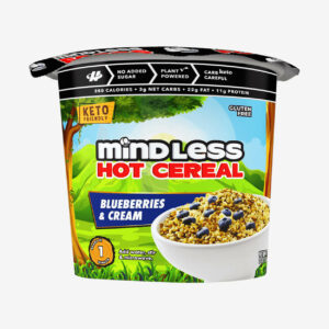 Blueberries and Cream Cereal - Mindless Foods - Halo Healthy Tribes
