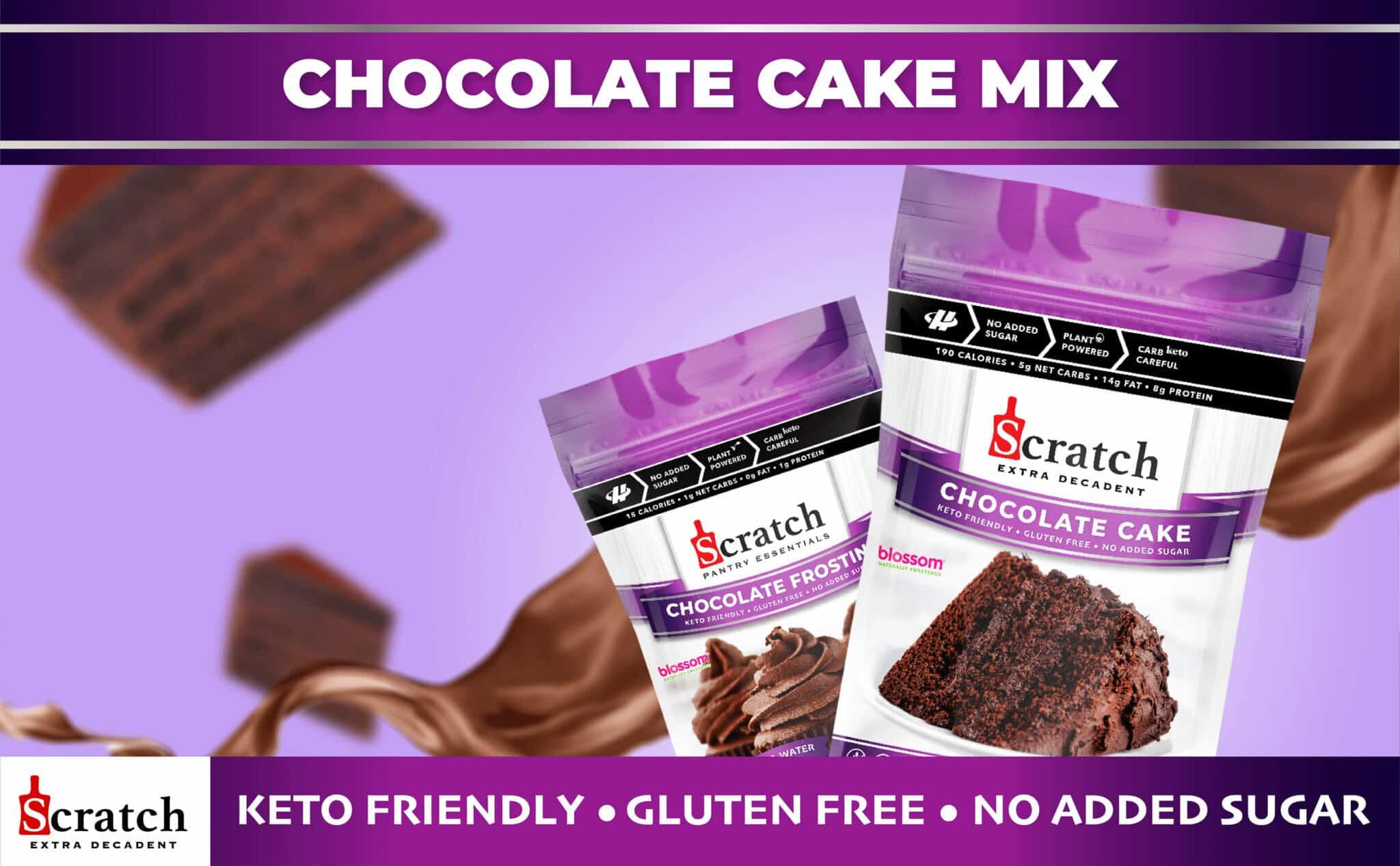 Keto & Gluten Free Chocolate Cake