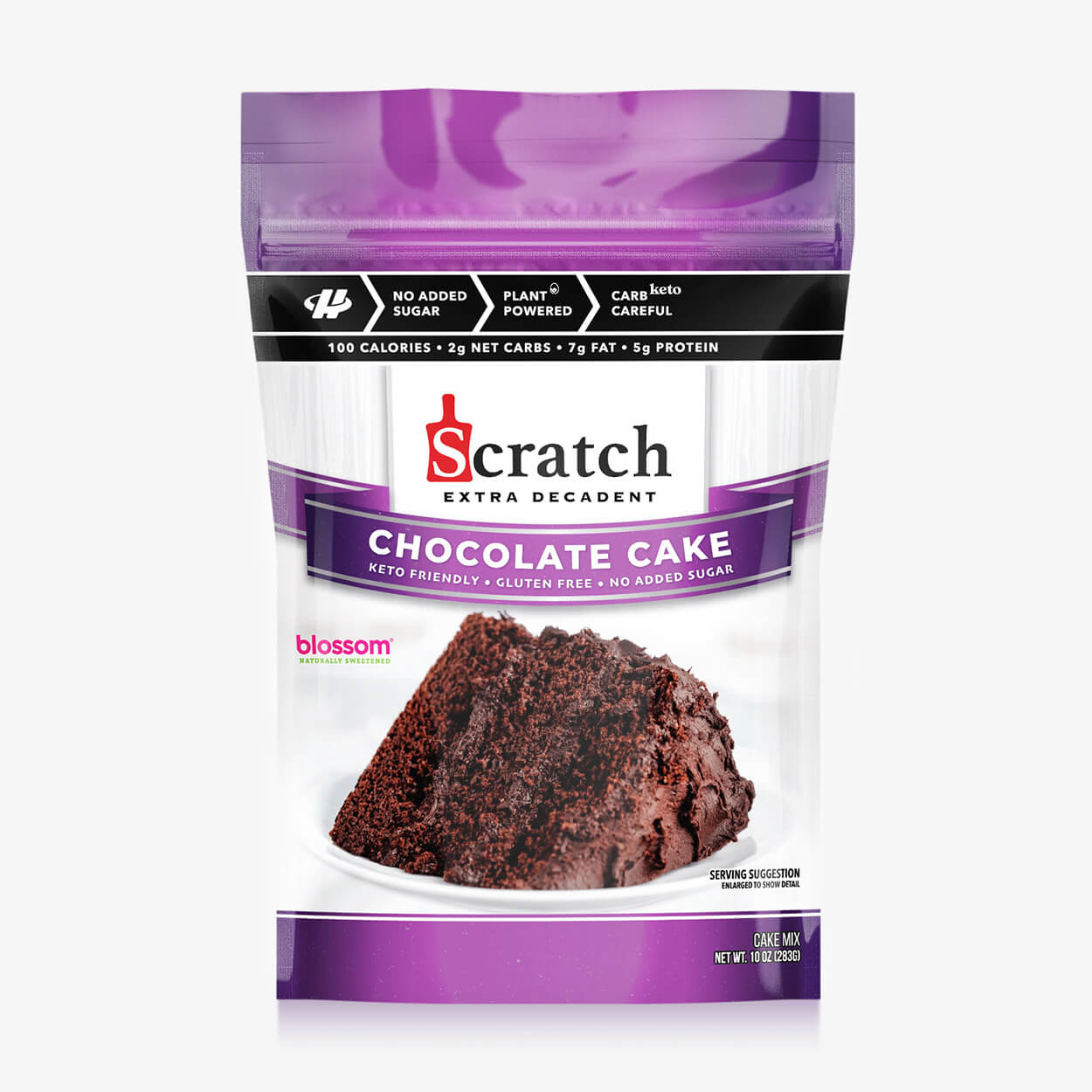 Chocolate Cake - Scratch Kitchen Co - Halo Healthy Tribes