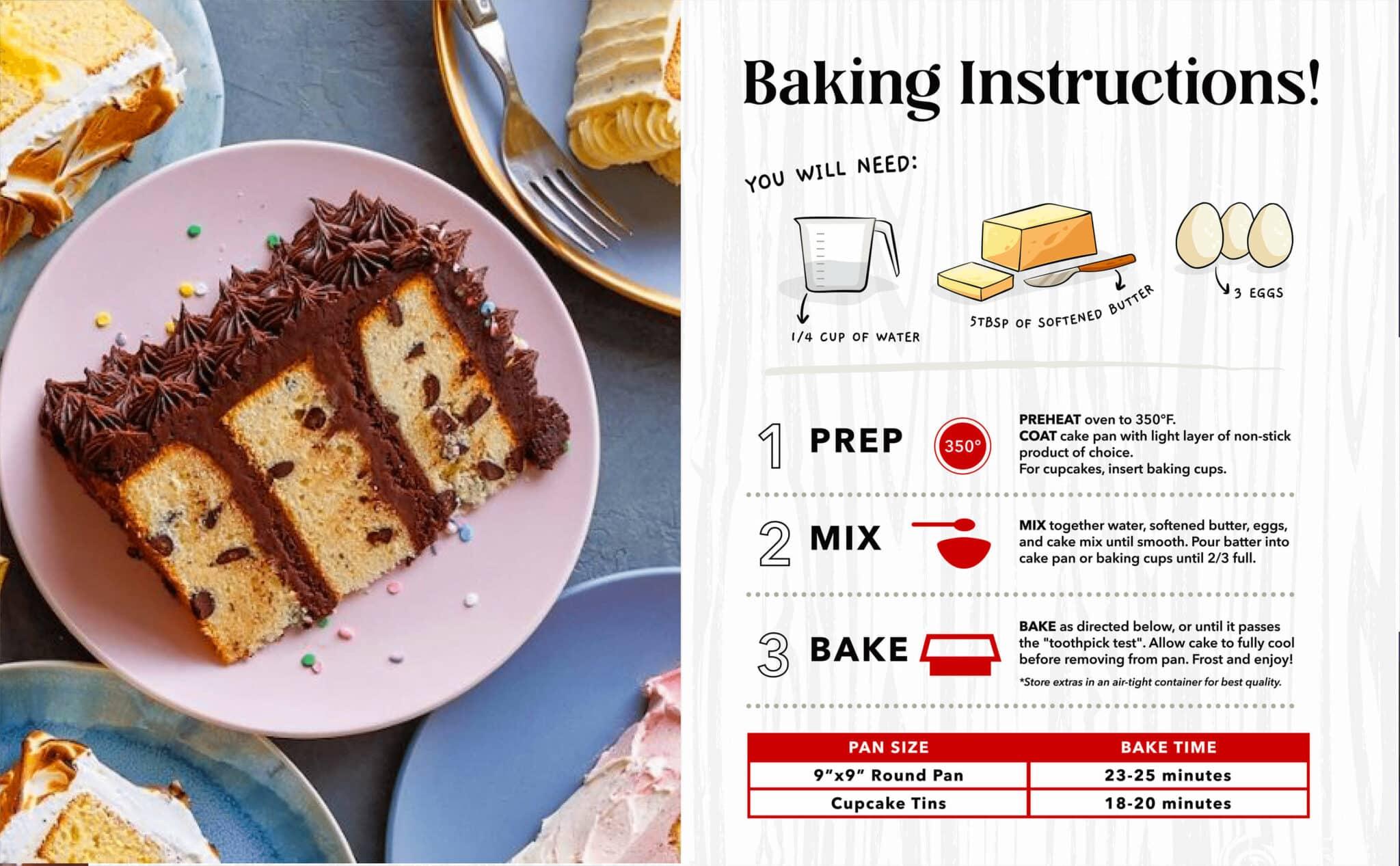 Keto Chocolate Chip Cake