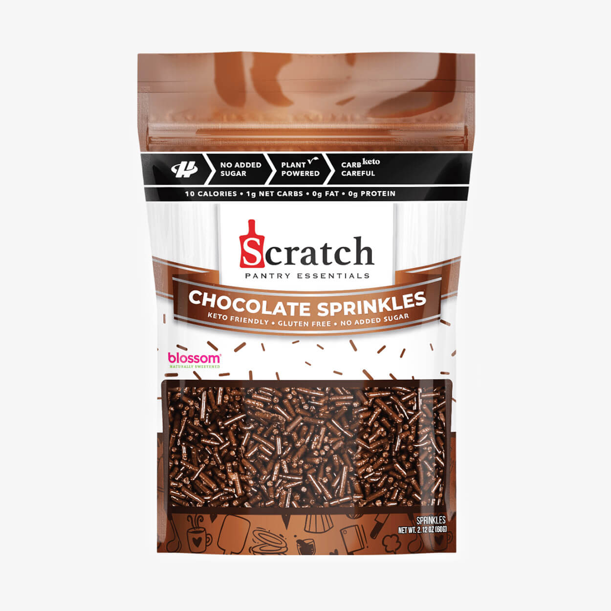 Chocolate Sprinkles - Scratch Kitchen Co - Halo Healthy Tribes