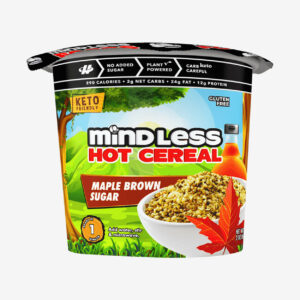 Maple Brown Sugar Cereal - Mindless Foods - Halo Healthy Tribes