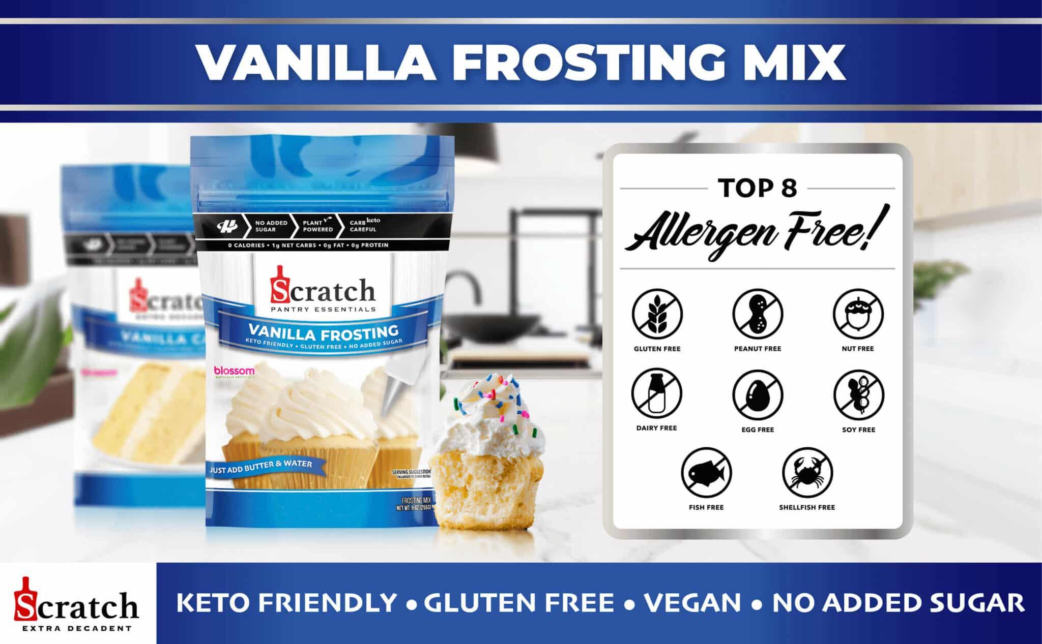 Keto Vanilla Frosting