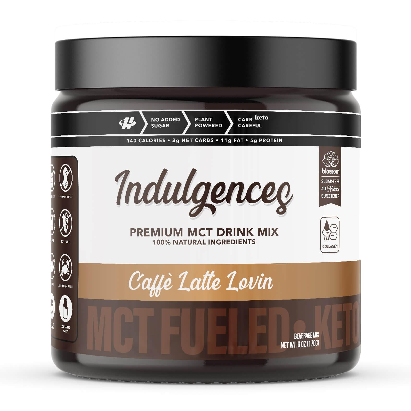 Caffe Latte MCT Drink Mix
