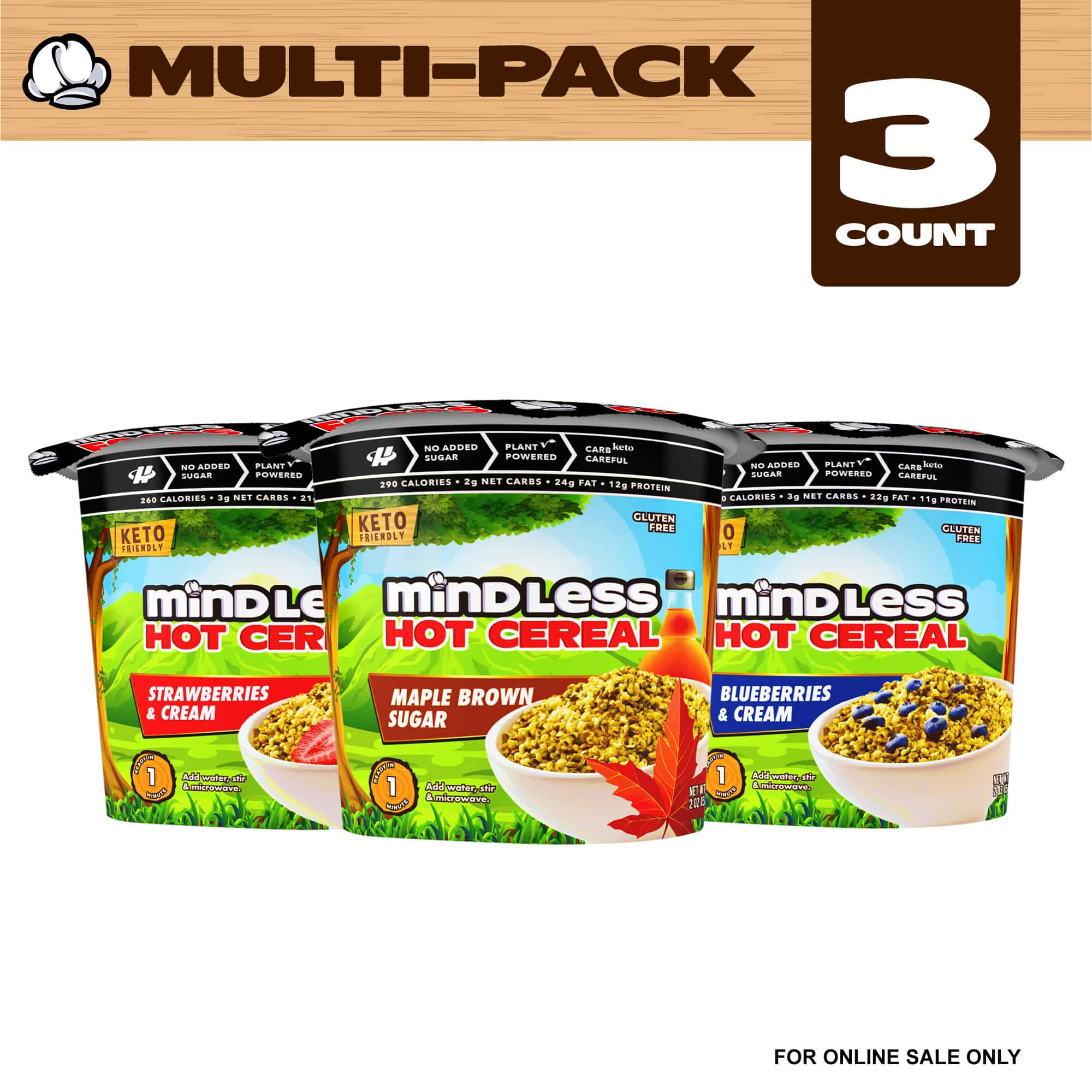 Mindless Cereal Variety Pack