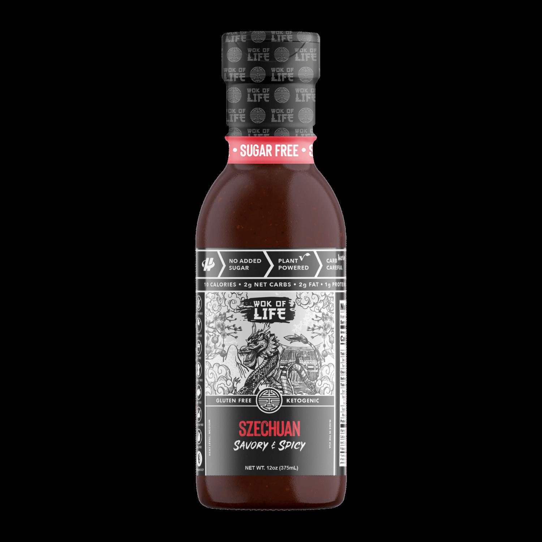 Szechuan Sauce - Wok Sauce - Halo Healthy Tribes