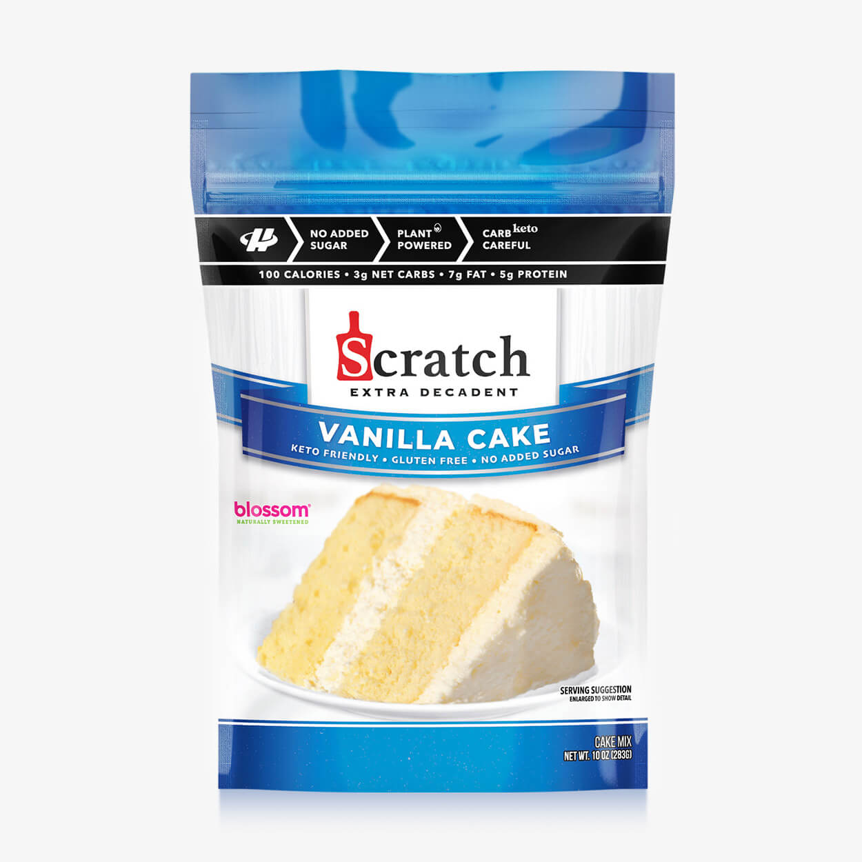 Vanilla Yellow Cake - Scratch Kitchen Co - Halo Healthy Tribes